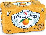 SPAR San Pellegrino Süssgetränke Dosen Aranciata / Limonata