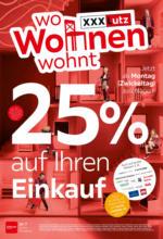 XXXLutz Flugblatt - 25.10. - 02.11.