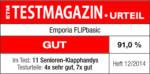 emporia FLIP basic Schwarz Klapphandy einfache Bedienung Notruffunktion NEU OVP