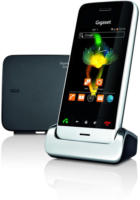 Gigaset SL930A Festnetztelefon metall/pianoschwarz, NEU, Anrufbeantworter-App