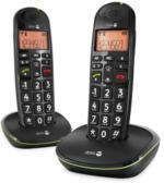 doro PhoneEasy 100w Duo Schwarz DECT-Mobilteil zusätzlich Freisprechen NEU OVP