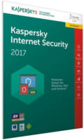 Kaspersky Internet Security 2017 Upgrade 1 Jahr, 3 PCs