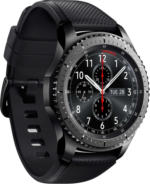 Samsung Gear S3 frontier Dunkelgrau 4 GB NFC Tizen Smartwatch IP68 NEU OVP