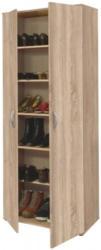 Schuhschrank Andy Sonoma Eiche-Nachbildung ca. 70 x 187 x 34 cm