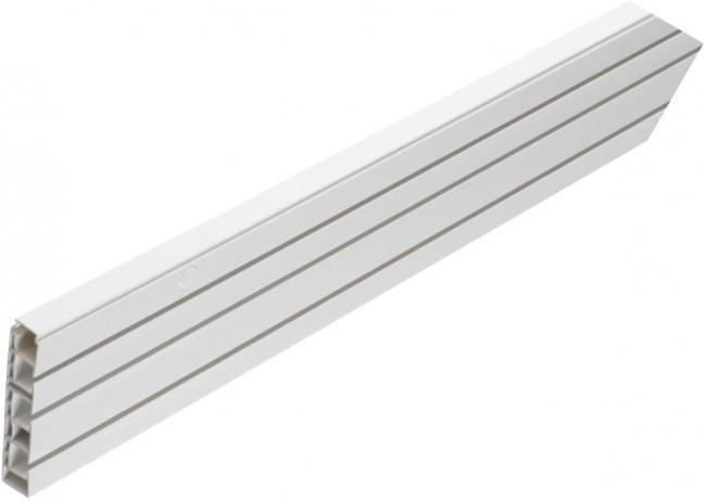 Gardinenschiene Mit Hohlkammer 3lfg Ca 150 Cm Weiszlig