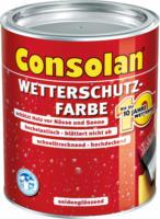 Wetterschutzfarbe rotbraun, 2,5L