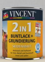 Vincent 2in1 Buntlack rapsgelb