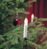 Konstsmide Kerzen-Baumkette, 15 Topbirnen