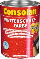 Consolan Wetterschutzfarbe weiß 0,75 L