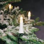 Konstsmide Kerzen-Lichterkette, 30 Topbirnen, für Außen