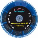 westline Wirbelsortiment Gr. M, 75 Stück