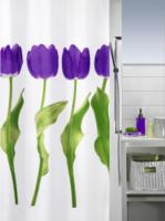 Duschvorhang Tulipa Violet 180x200 cm