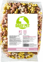 DailyPet Hund Hundefutter Miniknochen Mix, 750 g