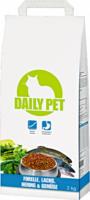 DailyPet Katze Trockenfutter Forelle, Lachs, Hering, Gemüse, 2 kg