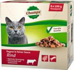 Champs Katzenfutter Rind, 8x100 g