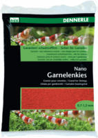 Dennerle Nano Garnelenkies Indisch rot