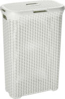 Rattan-Wäschebox Style, creme, 40 L