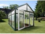 Nordic Gartenhaus Symi SL9, grün, PC klar