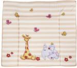 "Baby-Wickelauflage ""Giraffe & Elefant"" 75 x 85 x 3 cm"