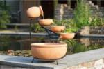 Ubbink Wasserspiel Terracotta Brunnen inkl. Pumpe, Ø 36 cm