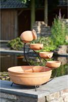 Ubbink Wasserspiel Terracotta Brunnen inkl. Pumpe, Ø 45 cm