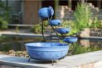 Ubbink Wasserspiel Keramik Brunnen, blau