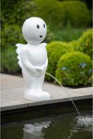 Ubbink Wasserspeier Boy Engel, klein, weiß