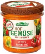 """Brotaufstrich Hofgemüse """"Paprika Trio"""""""