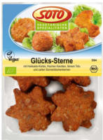 "Veganes fingerfood ""Glücks-Sterne"""