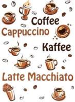 "Wandtattoo ""Kaffee"""