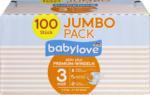 babylove Windeln Premium aktiv plus Größe 3, midi 4-9kg, Jumbo Pack 2x50 Stück