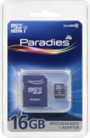 Paradies Speicherkarte MicroSDHC 16GB