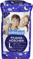 babylove Pyjamahöschen Größe L 8-12 Jahre, 24-50kg