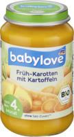 babylove Gemüse Früh-Karotten mit Kartoffeln nach dem 4. Monat