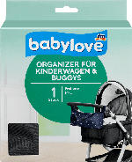 babylove Organizer für Kinderwagen & Buggys, schwarz
