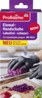 Profissimo Einmal-Handschuhe latexfrei schwarz
