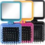 ebelin Mini-Klappbürste mit Spiegel