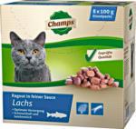 Champs Katzenfutter Lachs, 8x100 g
