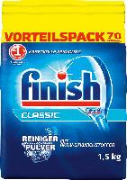 finish Spülmaschinenpulver mit Aktiv-Einweichstoffen