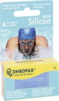 Ohropax Ohrstöpsel Silicon Aqua