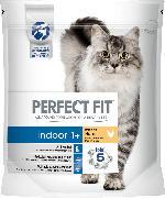 PERFECT FIT Trockenfutter für Katzen, Indoor+1 mit Huhn