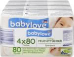 babylove Feuchttücher sensitive 4x80St