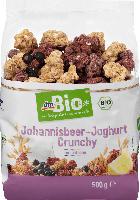dmBio Johannisbeer-Joghurt Crunchy
