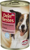 Dein Bestes Nassfutter für Hunde mit Kalb & Lamm, in Sauce