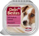 Dein Bestes Nassfutter für Hunde mit Kalb & Lamm, klassisch
