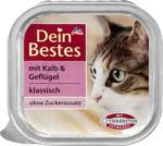 Dein Bestes Nassfutter für Katzen mit Kalb & Geflügel, klassisch