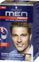 Men Perfect Tönungs-Gel Anti-Grau-Tönungs-Gel Natur Dunkelblond 40