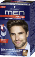 Men Perfect Tönungs-Gel Anti-Grau-Tönungs-Gel Natur Mittelbraun 60