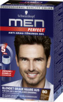 Men Perfect Tönungs-Gel Anti-Grau-Tönungs-Gel Natur Schwarzbraun 80