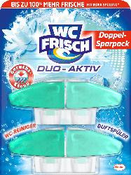 WC-Frisch WC Reiniger Duo-Aktiv Geruchsstopp Nachfüllpack